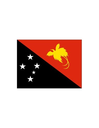 BANDIERA NUOVA GUINEA PAPUASIA CM...
