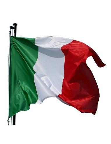 KIT 10 BANDIERE ITALIA CM 90X140