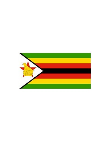 BANDIERA ZIMBABWE CM 150X220