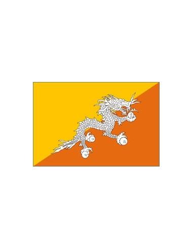BANDIERA BHUTAN CM 100X150