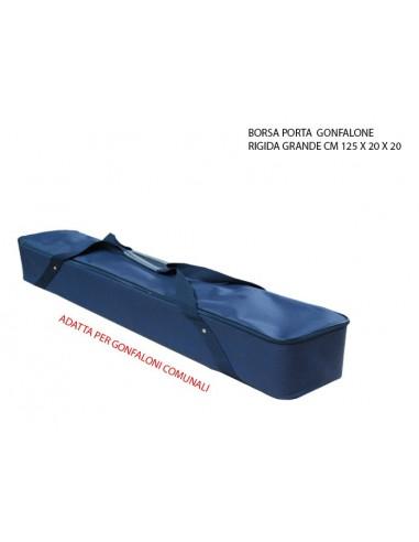 BORSA PORTAGONFALONE RIGIDA CM 125X20X20